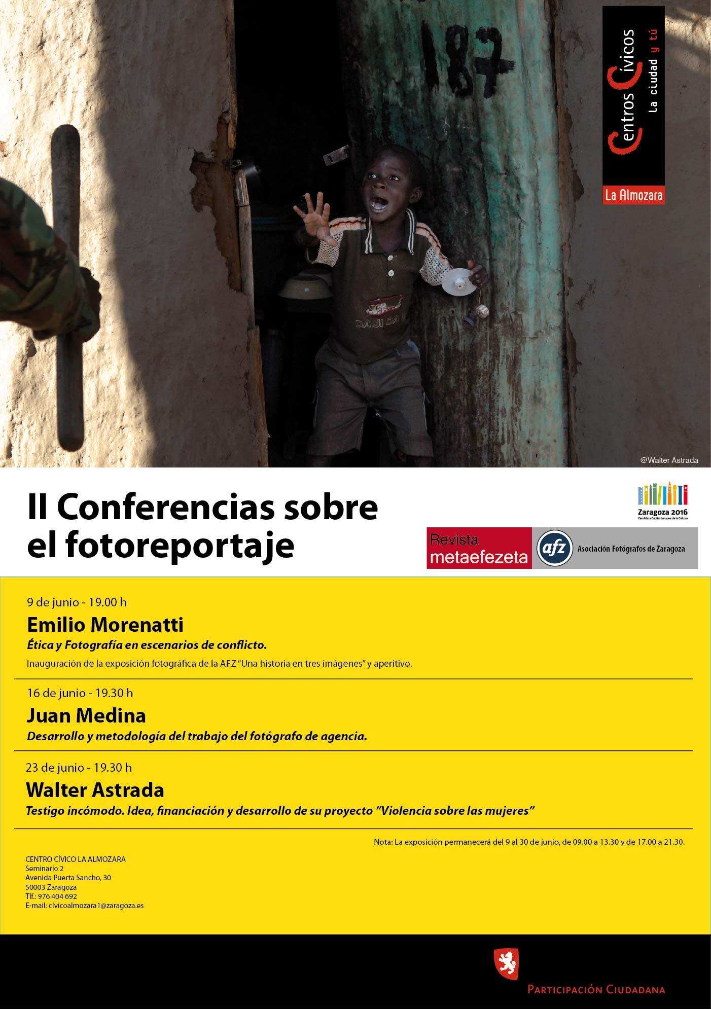 II Conferencias sobre fotoreportaje AFZ